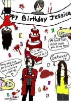 Happy Birthday Jessica 2 by cxsankh