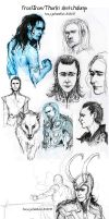 Frostiron-Thorki-sketchdump by TashinaJacob