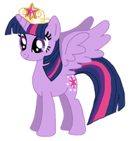 Princess Twilight Sparkle by mugiwara-mina