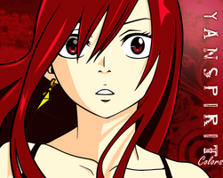 ErZa Scarlett - Red Headed Fairy by yanspirit