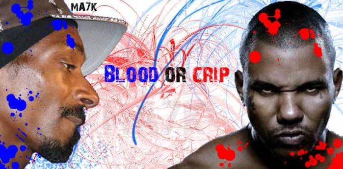 Blood or crip by MA7K