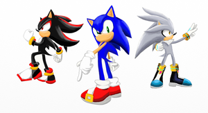 Sonic and the hedgehogs by silversonic2000