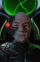 Locutus of Borg by markdraws