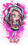.:Ever After High:. Chibi Madeline Hatter by Airinreika