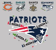 NFL crayon by Patmos