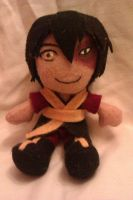 Avatar: The Last Airbender - Prince Zuko plush by AliceOfTheRose