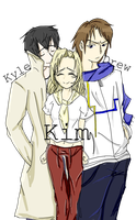 Kyle, Kim, Drew. Two hundred pictures! by Access-to-Adventure