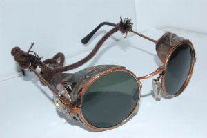 steampunk glasses 1 by AyraMatao