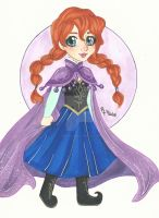 COMM: Chibi Anna by chelleface90