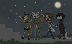 Happy Early Halloween by Super-Cute