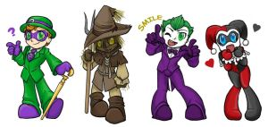 Batman Badies by Mel-the-shadow-lover