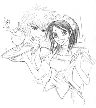 Usui and Misaki by Fleeting-Life