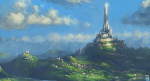 City on a Hill by LyntonLevengood