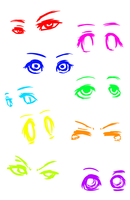 eyes customization by PaperMoonFictive