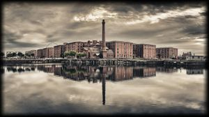 Albert Docks - Redux by woody1981
