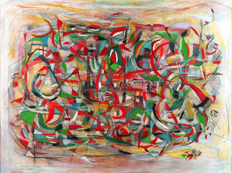 Danny Simmons - Complicated Things About My Father by QCC-Art