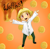 Jack And Waffles by my-darkness