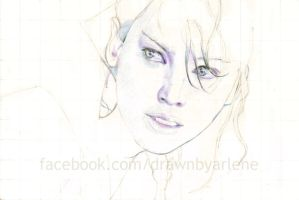 Katniss - WIP by StandsWithAPencil