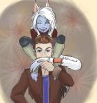 Shoulder Aurin! by bitofwhimsy