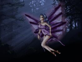 Lost dark fairy _PSP and BG_ by Eliana-Prog