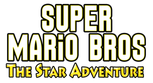 Super Mario Bros The Star Adventure Logo by KingAsylus91