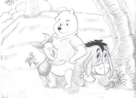 Winnie the Pooh by piscesbaby0314