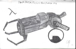 Black Mesa Incorporated Physics Manipulation Ray by Theory-Of-Existence
