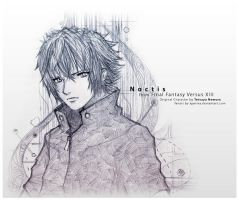 FF versus XIII - Noctis by xperiva