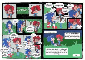 sonic and sally comic complete by aloneintown