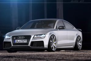 Audi A7 by EvolveKonceptz