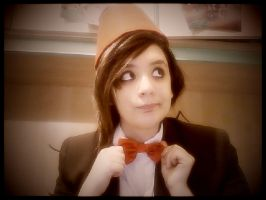 Doctor who- Female!Eleventh Doctor Cosplay by Artieukchan