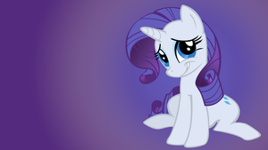 Rarity Wallpaper by Shelmo69