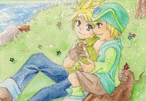 ACEO #28+29 [wanna try?] by Takuichi