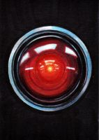 HAL 9000 by Christopher-Manuel