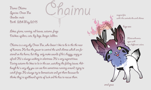 Chaimu - Reference Sheet by Fucal