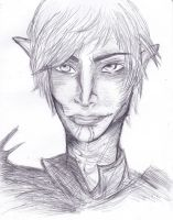 short lines practice: Fenris by CandraRose