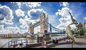 Near the Tower Bridge by JuanChaves