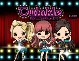 SNSD TTS TWINKLE CHIBI by squeegool