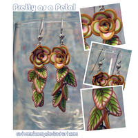Pretty as a Petal - Earrings by AutumnHoney