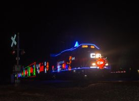 CP christmas train 2015 by wolvesone