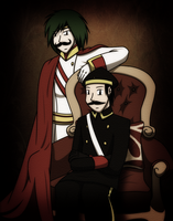 The Archduke and his Driver by Gav-Imp