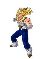 Future Veggeta SSJ2 V1 by DBZArtist94