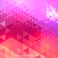 Triangle Pattern Free Vector by vecree