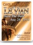 Le Vian postcard Save The Date - Chocolate Version by bassgeisha