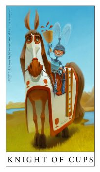 Knight Of Cups by creaturedesign