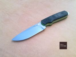 Fire Ant - N690 Stainless by MLLKnives