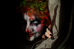 Evil Clown by KlairedeLys