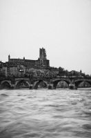 Albi flood by OlivierAccart