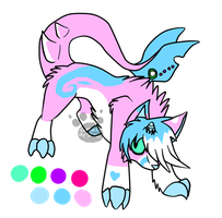 Narwolf Adoptable {CLOSED} by comLcsans