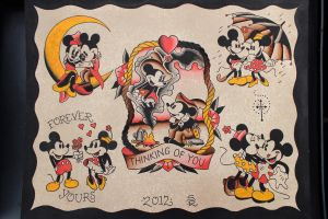 Mickey and Minnie by Steve-Rieck